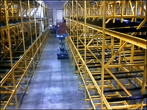 2,500 pallet position- 3 deep, 3 level push back New Berlin, WI