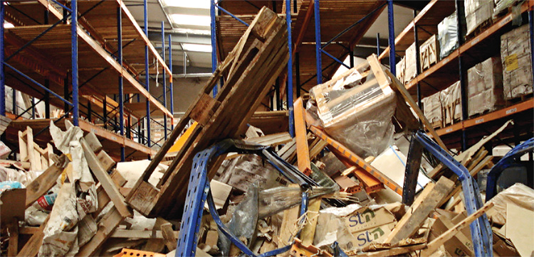 Pallet Racking Disaster in Wisconsin Warehouse