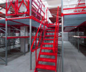 Storage Mezzanines for manufacturing facilities, distribution centers and warehouses