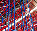 Pallet racking repair for forklift damage and equipment crashes