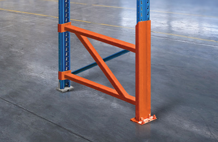 Premium pallet rack repair and protect product